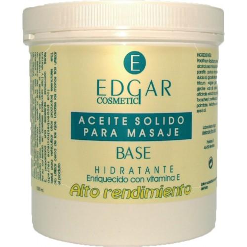 Aceite sólido para masaje base