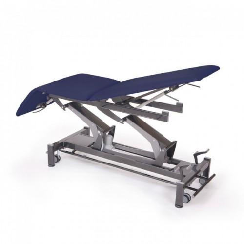 camilla de fisioterapia de 3 secciones