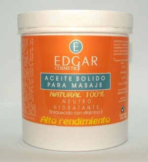 aceite solido para masaje 100% natural
